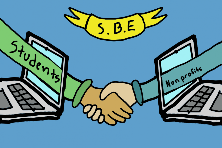 Student Business Enterprises helps nonprofits navigate the internet