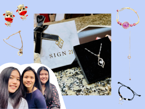 Kathryn Go (24) and Kelsey Go (22) run their jewelry business SIGN21 all year round.